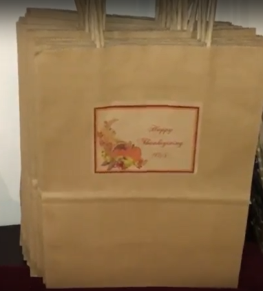 Old Thanksgiving Bag